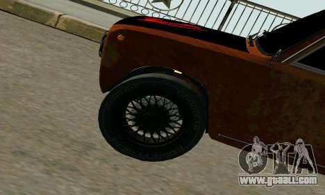 VAZ 2101 Ratlook v2 for GTA San Andreas back view