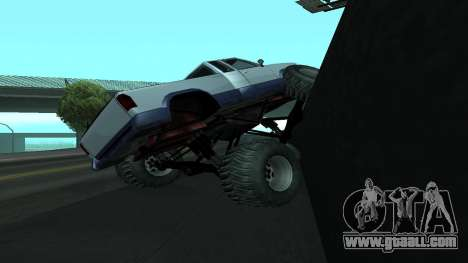 The new physics of cars v2 for GTA San Andreas forth screenshot
