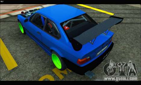 BMW e36 Drift Edition Final Version for GTA San Andreas left view