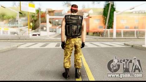 Counter Strike Skin 1 for GTA San Andreas second screenshot