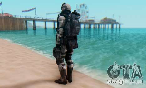C.E.L.L. Soldier (Crysis 2) for GTA San Andreas third screenshot