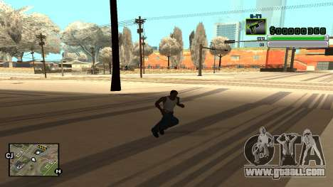 C-HUD v5.0 for GTA San Andreas fifth screenshot