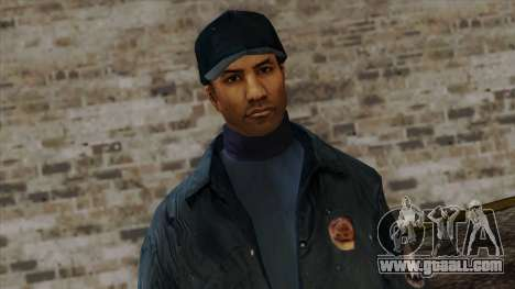 Police Skin 4 for GTA San Andreas third screenshot