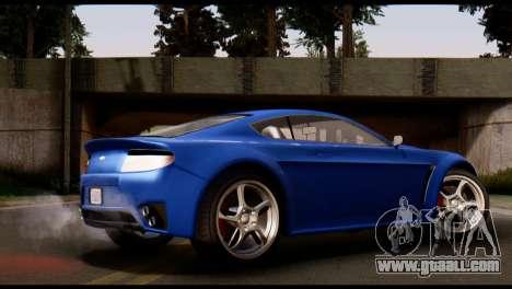 GTA 5 Dewbauchee Rapid GT Coupe [HQLM] for GTA San Andreas left view