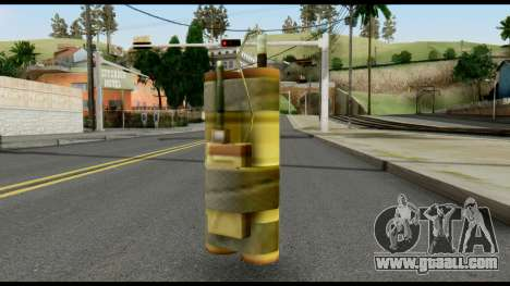 TNT from Metal Gear Solid for GTA San Andreas
