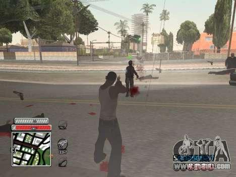 C-HUD Unique v4.1 for GTA San Andreas fifth screenshot