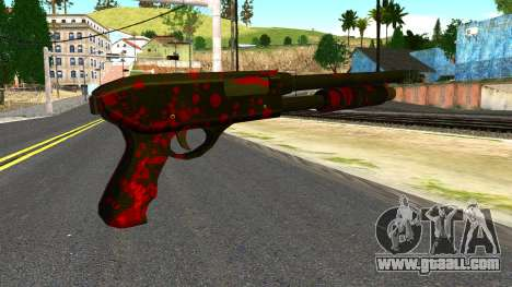 Shotgun with Blood for GTA San Andreas second screenshot