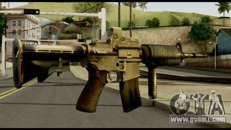 SOPMOD from Metal Gear Solid v2 for GTA San Andreas second screenshot