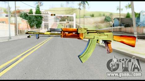AK47 from Metal Gear Solid for GTA San Andreas