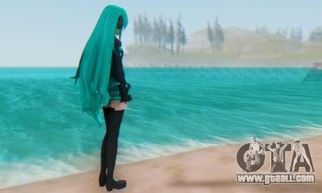 Miku Hatsune MMD for GTA San Andreas forth screenshot