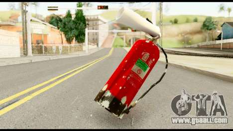 Fire Extinguisher with Blood for GTA San Andreas