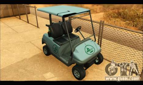 Caddy (GTA V) for GTA San Andreas