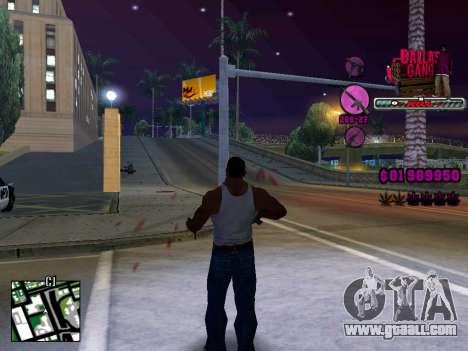 C-HUD Ballas TAWER for GTA San Andreas second screenshot
