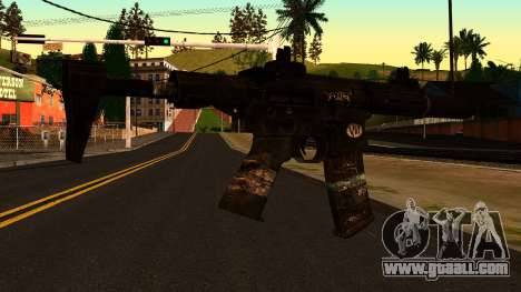 HoneyBadger from CoD Ghosts v2 for GTA San Andreas second screenshot