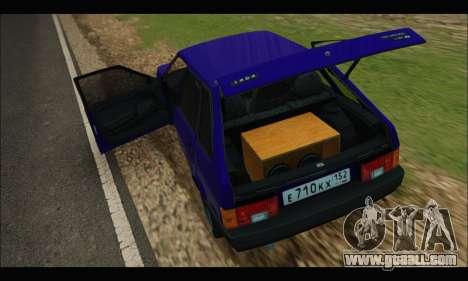 VAZ 2109 BPAN for GTA San Andreas right view