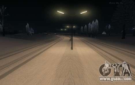 Snow Mod for GTA San Andreas