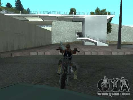 Angel GTA 4 TLaD for GTA San Andreas left view