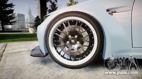 BMW E92 M3 LibertyWalk for GTA 4 back view