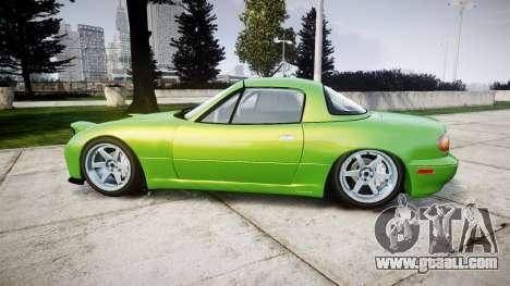Mazda MX-7 for GTA 4 left view
