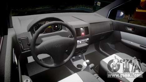 Hyundai Getz 2006 for GTA 4 inner view