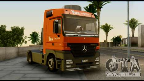 Mercedes-Benz Actros PJ1 for GTA San Andreas right view