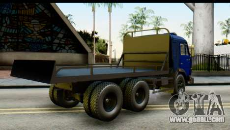 KamAZ 65115 Tow DPS for GTA San Andreas left view