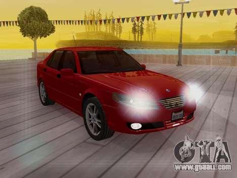 Saab 95 for GTA San Andreas interior