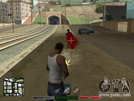 C-HUD v2.0 for GTA San Andreas second screenshot