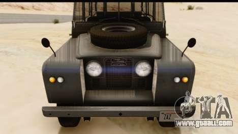 Land Rover Series IIa LWB Wagon 1962-1971 [IVF] for GTA San Andreas right view