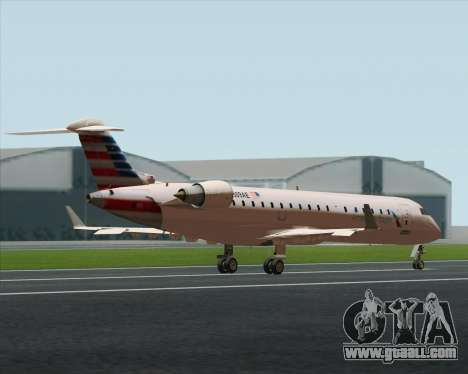 Bombardier CRJ700 American Eagle Airlines for GTA San Andreas inner view