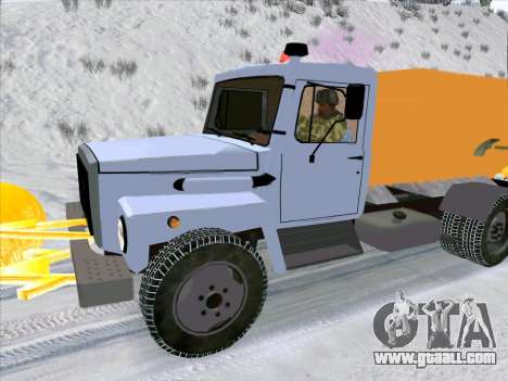 GAZ 3309 Snow for GTA San Andreas