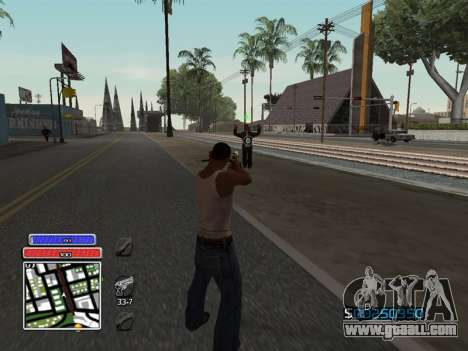 C-HUD Unique v4.1 for GTA San Andreas second screenshot
