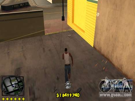 C-HUD Ghetto Life for GTA San Andreas fifth screenshot