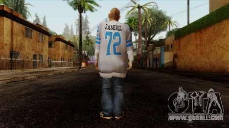 GTA 4 Skin 75 for GTA San Andreas second screenshot