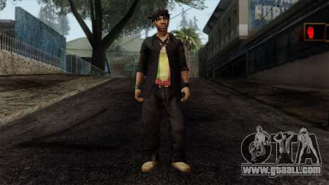 GTA 4 Skin 22 for GTA San Andreas