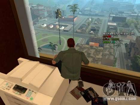 3D HUD CLEO for GTA San Andreas third screenshot