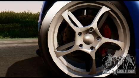 GTA 5 Dewbauchee Rapid GT Coupe [HQLM] for GTA San Andreas back left view