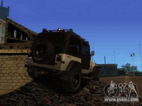 Jeep Wrangler 1986 Trophy for GTA San Andreas left view