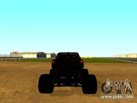 SuperMotoXL Zen MaXXimus CD 17.1 XL-HT for GTA San Andreas back left view