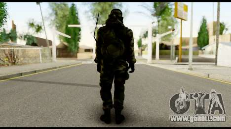 Engineer from Battlefield 4 for GTA San Andreas second screenshot