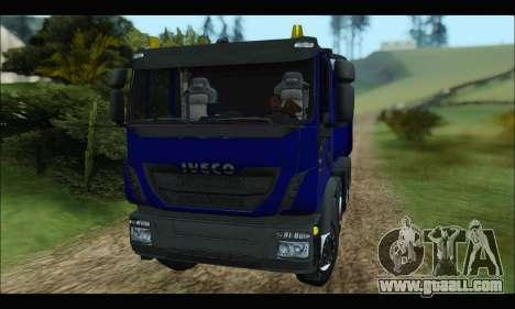 Iveco Trakker 2014 Tipper for GTA San Andreas left view