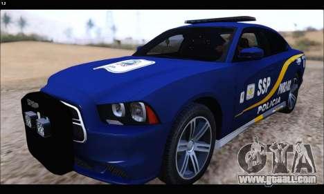 Dodge Charger SXT PREMIUM V6 SSP DF 2014 for GTA San Andreas