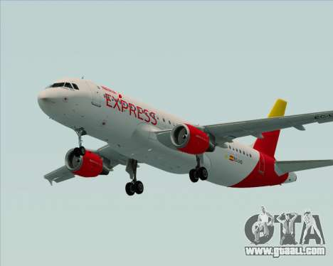 Airbus A320-200 Iberia Express for GTA San Andreas side view