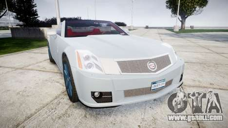Cadillac XLR-V 2009 for GTA 4