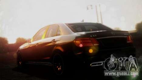 Mercedes-Benz E63 AMG 2014 for GTA San Andreas left view