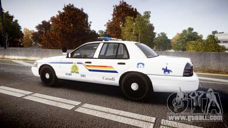 Ford Crown Victoria Canada Police [ELS] for GTA 4 left view