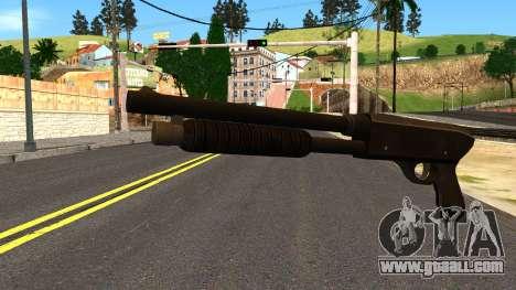 Combat Shotgun from GTA 4 for GTA San Andreas