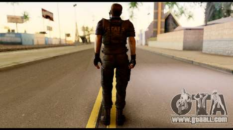 Resident Evil Skin 11 for GTA San Andreas second screenshot