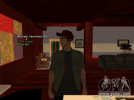 3D HUD CLEO for GTA San Andreas second screenshot