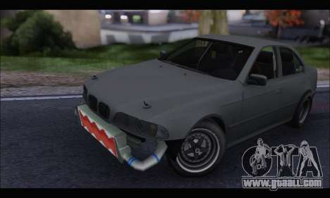 BMW e39 Drag Version for GTA San Andreas